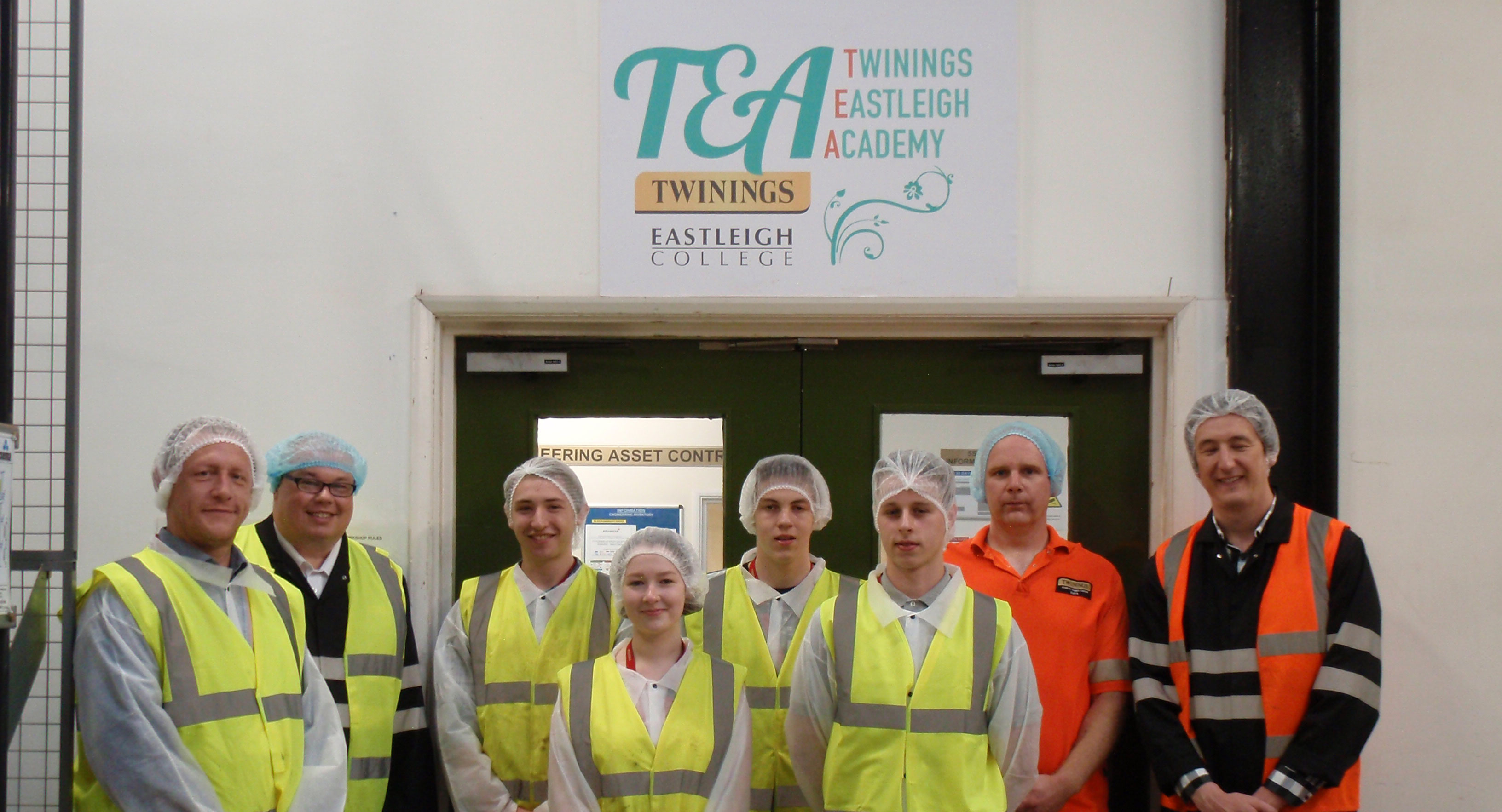 Eastleigh College and Twinings launch training academy